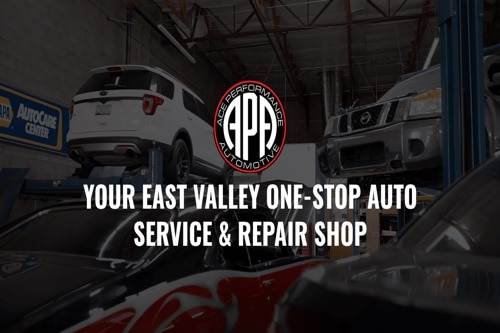 Our commitment to being your one stop auto service and repair shop in Gilbert Az Ace Performance Automotive inside view of office